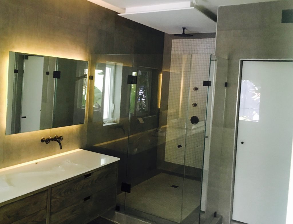 Mirror and Shower